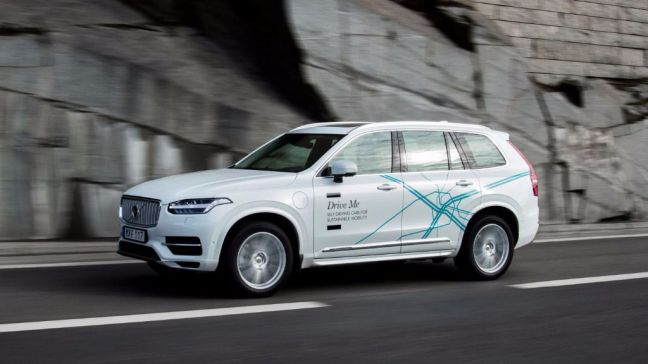 Volvo Cars, Autoliv y NVIDIA por la conducción autónoma.