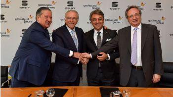 Seat y Gas Natural Fenosa impulsarán el gas como combustible
