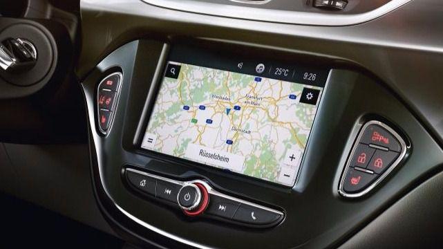 Sistema de multimedia Navi 4.0 IntelliLink para los pequeños Opel