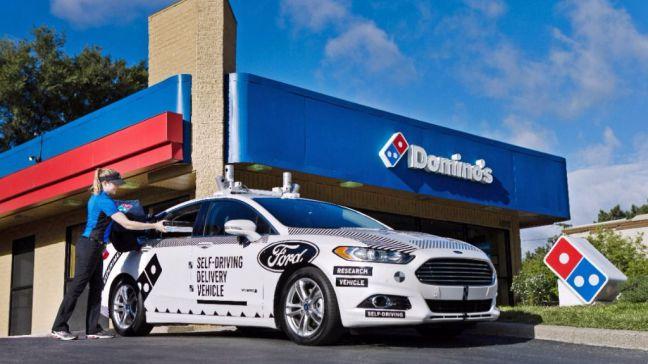 Ford y Domino's Pizza prueban el reparto autónomo