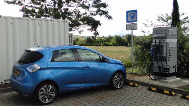 La recarga en ruta de los vehículos eléctricos posible gracias a baterías de segunda vida