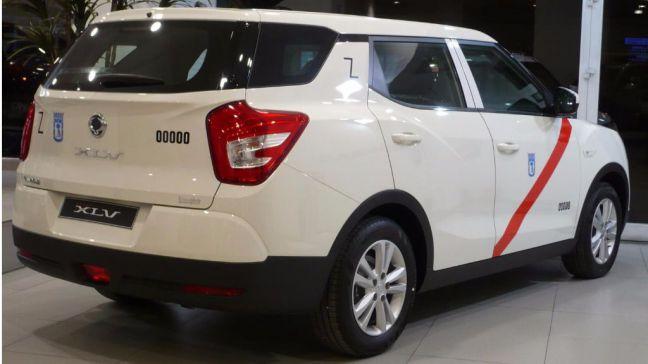 SsangYong presenta su nuevo taxi propulsado por GLP