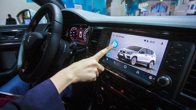 SEAT integra Shazam en el coche