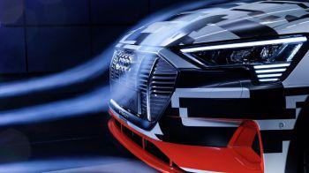 Audi e-tron, un prototipo de eléctrico aerodinámico